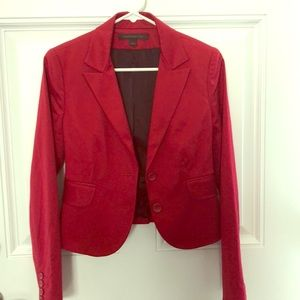 Express Design Studio Red Suit Separates